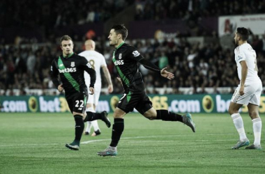 Premier League, Swansea - Stoke City 0-1: decide Bojan
