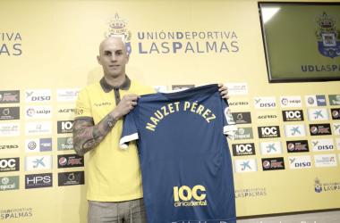 Nauzet Pérez, nuevo portero de la UD Las Palmas