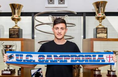 source photo: profilo Twitter Sampdoria
