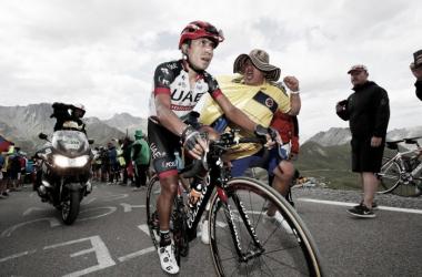 Darwin Atapuma, figura en la etapa 18 del Tour de Francia