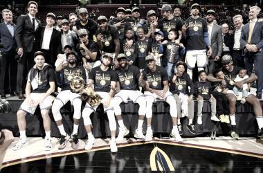 Los dueños del anillo | Foto: @Warriors