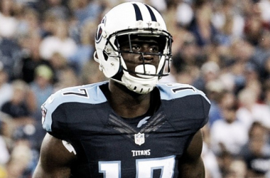 DGB is looking to become WR1 for the Titans. Photo: Fox Sports