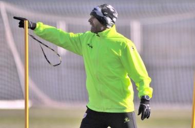 """Paco Jémez: """"Estoy muy contento porque sabía la dificultad del partido"""""""