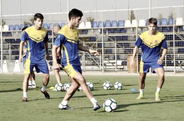 """Felipe Alfonso: """"Seguro que el Huesca nos pone las cosas difíciles"""""""