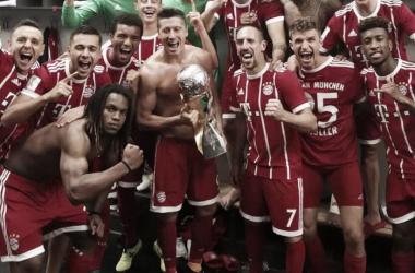 El Bayern de Múnich, campeón de la Supercopa de Alemania | Foto: Bayern Múnich