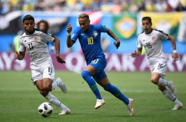 Vittoria nel recupero del Brasile: Coutinho e Neymar battono un Costa Rica arcigno e mai domo