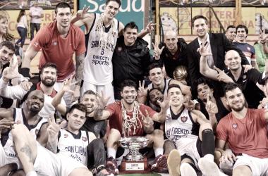 San Lorenzo tiene hegemonía para rato en el básquet argentino. Foto: Web