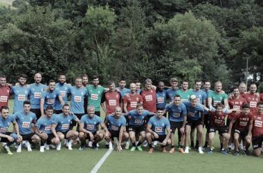 La plantilla de la SD Eibar para la temporada 18/19 // Imagen vía SD Eibar