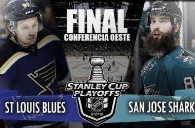 St. Louis Blues - San Jose Sharks: el oeste necesita nuevo campeón