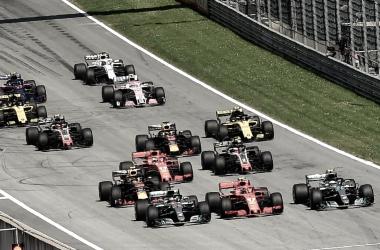 Salida del GP de Austria | Foto: @f1