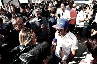 La reestructuración de McLaren no fue consultada con Alonso