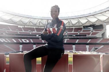 Aminata Diallo, nueva jugadora del Atlético de Madrid
