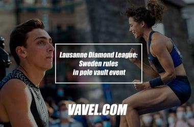 Lausanne Diamond League: Swedenrules in pole vault event