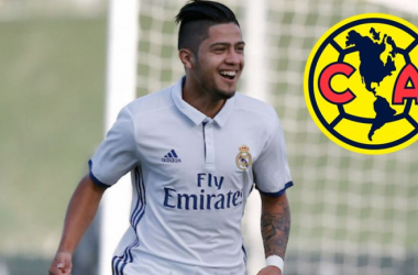 Llega Sergio Díaz al América, procedente del Real Madrid