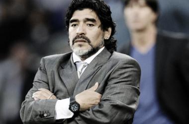 Maradona tocó muchos temas en general. Foto: Web