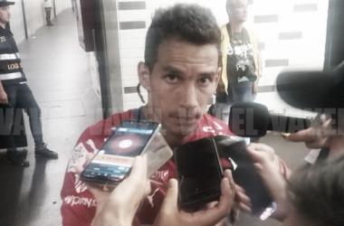 Diego Arias habló con Vavel.com luego del empate a dos frente a Nacional | Foto: Vavel Colombia