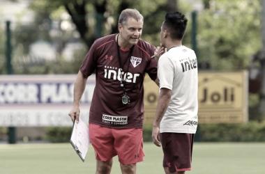 São Paulo realiza último treino antes de confronto pela Copa do Brasil