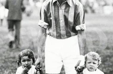 García jugó 15 años consecutivos con la casaca azulgrana. Foto: El Gráfico