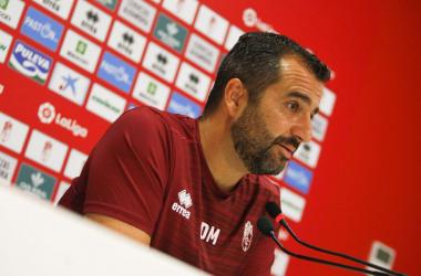 Diego Martínez en rueda de prensa. Foto: Antonio L. Juárez.