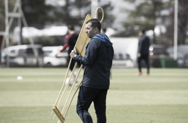 "Diego Martínez: ""Esto nos motiva"""