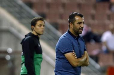 Diego Martínez en un partido en Los Cármenes | Foto: La Liga