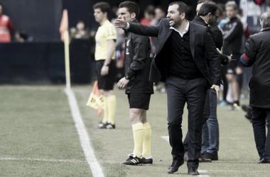 """Diego Martínez: """"Hemos hecho un partido muy serio"""""""