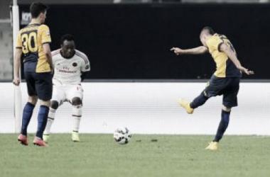 El gol de Nico López (FOTO:Ovacion).
