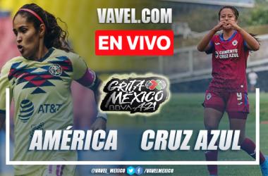 Goles y resumen del América Femenil 2-1 Cruz Azul Femenil en Liga MX Femenil 2021