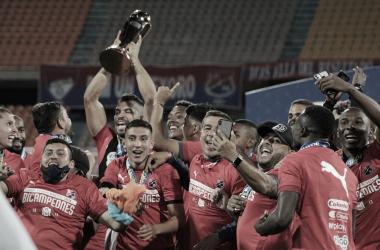 El DIM, primer bicampeón invicto en el fútbol colombiano