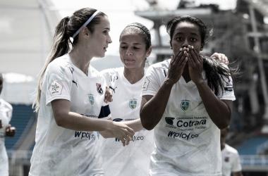 Medellín inauguró la Liga Femenina BetPlay 2021 con triunfo en casa del América
