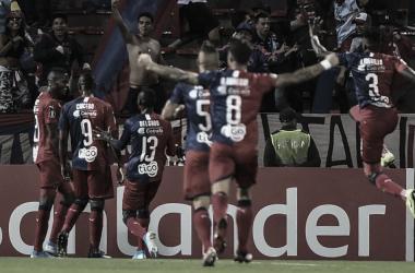 Independiente Medellín pegó primero y goleó al Deportivo Táchira