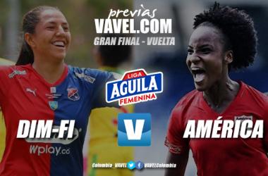 Previa DIM-Formas Íntimas vs. América de Cali: definición del campeón de la liga femenina