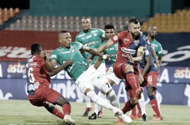 Estadísticas de la derrota del Medellín ante el Deportivo Cali