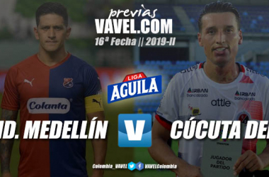 Previa Independiente Medellín vs. Cúcuta Deportivo: duelo por seguir soñando con los cuadrangulares