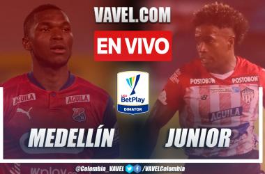 Resumen Medellín vs. Junior (0-0) en la fecha 3 por Liga BetPlay 2021-II