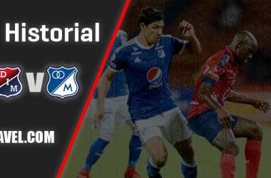 Así está el historial entre Independiente Medellín y Millonarios