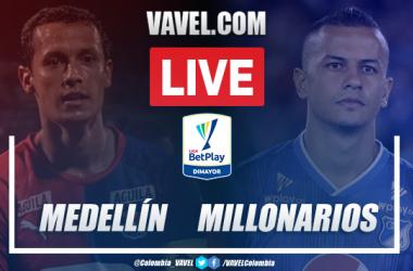 Independiente Medellín vs Millonarios EN VIVO: seguir transmisión directo online por Liga BetPlay (1 - 0)