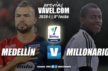 Previa Independiente Medellín vs. Millonarios: duelo de necesitados
