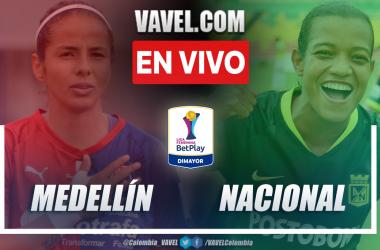 Resumen Independiente Medellín vs Atlético Nacional (0-2) en la fecha 2 del grupo B por Liga Femenina 2021