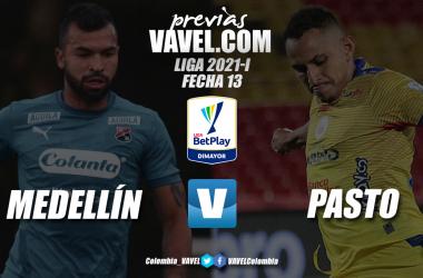Previa Independiente Medellín vs Deportivo Pasto: un duelo con historia