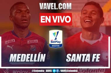 Resumen: Medellín 0-0 Santa Fe en la fecha 8 por Liga BetPlay 2021-II