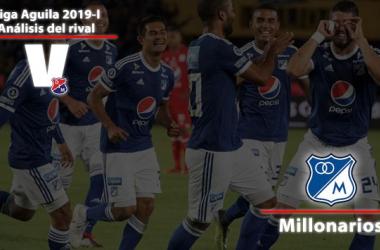 Millonarios vs DIM. Domingo 31 de Marzo 5:30 P.m
