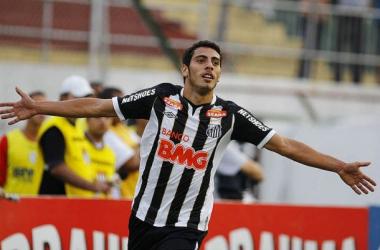 """Dimba chega para ser o """"homem gol"""" do Penapolense em 2014 (Foto: Divulgação)"""