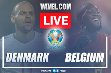 Goals and highlights: Denmark 1-2 Belgium in Euro 2020