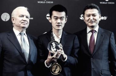 Ding Liren ganador del Grand Prix de Moscu