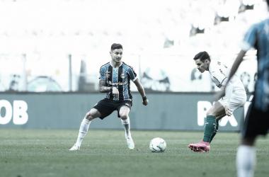 Em jogo fraco tecnicamente, Grêmio e Palmeiras empatam em Porto Alegre