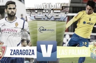 Resultado Real Zaragoza - UD Las Palmas en Ascenso 2015 (3-1)