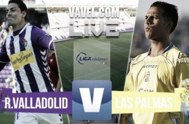 Resultado Valladolid - Las Palmas en ida del playoff de ascenso a Primera División 2015 (1-1)