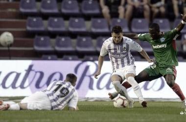 Deportivo Alavés vs Real Valladolid en vivo y en directo online en la Liga Santander 2019 (2-1)