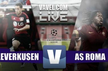 Resultado Bayer Leverkusen - AS Roma en Champions League 2015 (4-4)